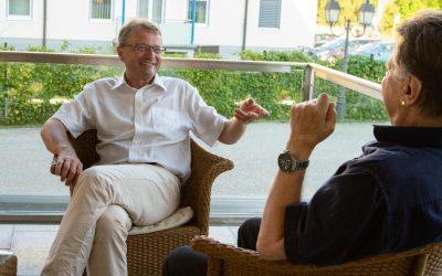 Lukas Resetarits zu Gast im Kurpark Bad Ischl