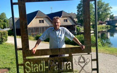 Besichtigung von EFRE-Projekten in Stadl-Paura