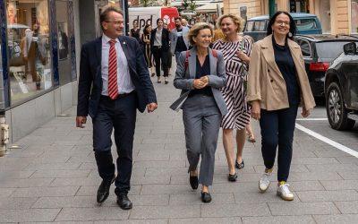 Besuch der Kunst- und Kulturstaatssekretärin Andrea Mayer in der Europäischen Kulturhauptstadt 2024 Bad Ischl – Salzkammergut